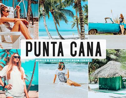 Free Punta Cana Mobile & Desktop Lightroom Preset