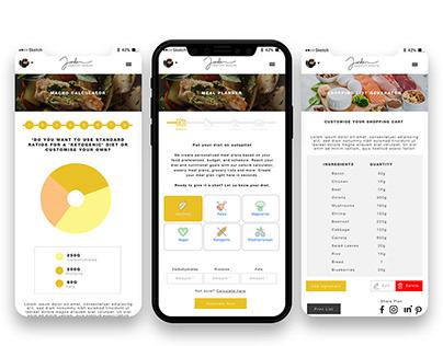 Mobile App development for Jordan Hartley Health