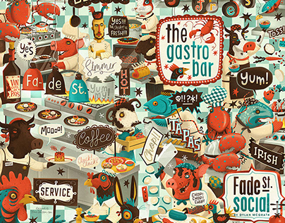GASTRO BAR - menu cover