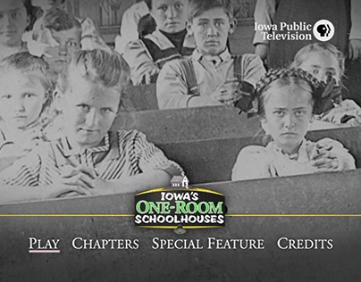 Iowa's One-Room Schoolhouses | DVD Menus