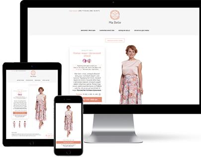 WebShop of Ma Belle brand