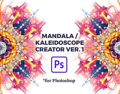 Kaleidoscope / Mandala Generator for Photoshop PSD