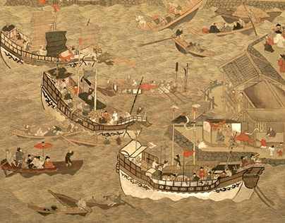 The Paintings of Joseon Tongsinsa's Ships