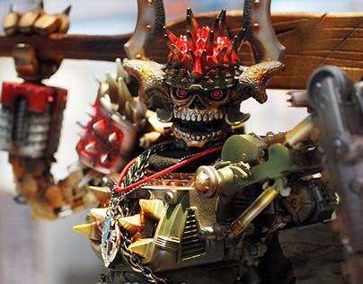 荊裂骷髏王 / Skull King - 'Wudang Hunter' Jing Lie Custom