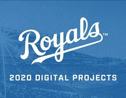 2020 Digital Projects - Kansas City Royals