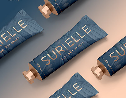 Surielle Skincare Branding and Packaging