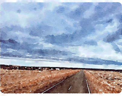Patagonian Watercolors