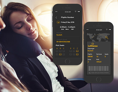 UI Kit For Flight Booking