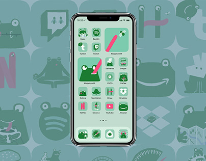 Frog App Icons