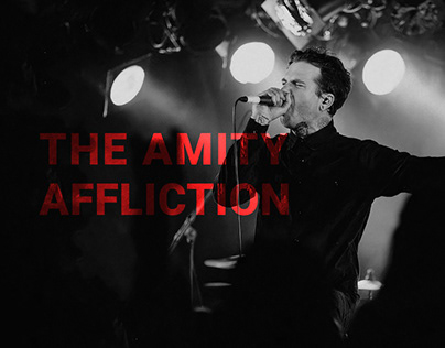 The Amity Affliction - Redesign Website