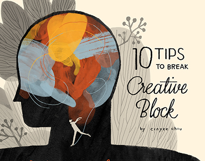 Creative Block infographic