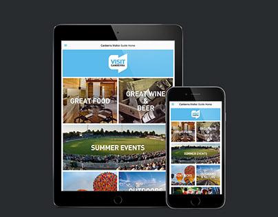 Canberra Visitor Guide App
