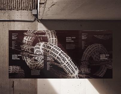 Ultra Music Festival Poster Series