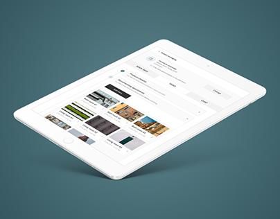 Design | Tablet App