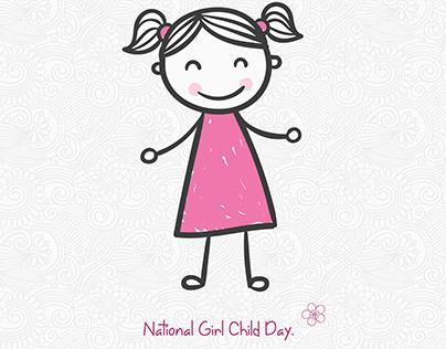 Illustrations | National Girl Child Day