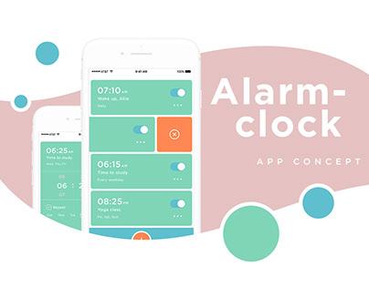 Alarm-clock Mobile App