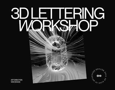3D Lettering Workshop