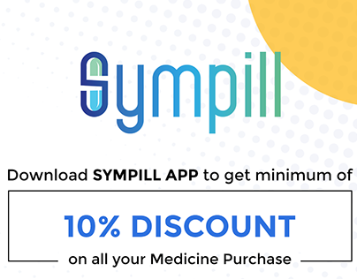 Sympill - UI/UX Mobile App Project