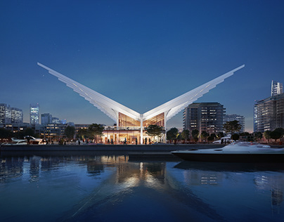 Dubai Harbour Master Building | Design by AMA