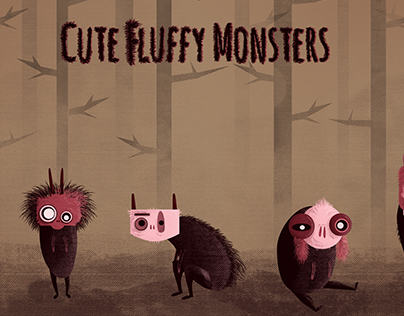 Cute Fluffy Monsters