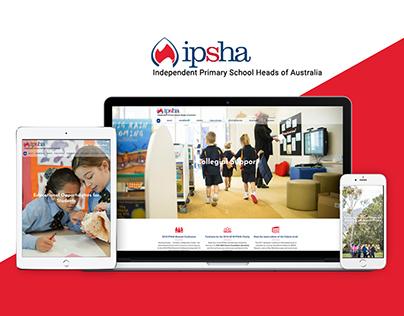 ipsha - School Wesbite Design