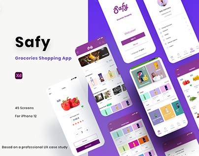 Safy Groceries Shopping App