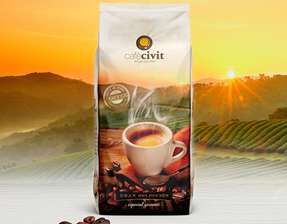packaging café civit