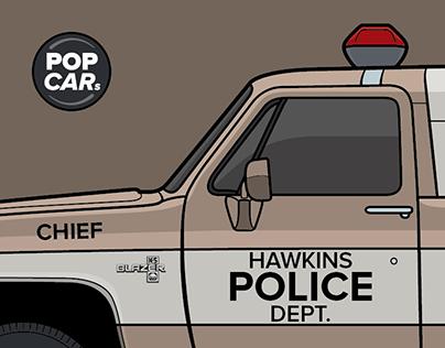 Stranger Things - POP CARs (1-4)