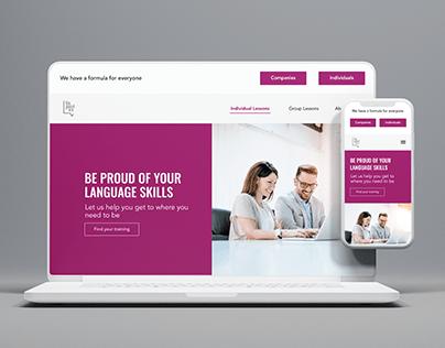 Website Re Design for LV Linguistics