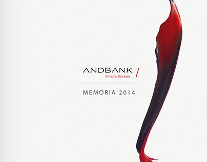 ANDBANK -Diseño Editorial Memoria
