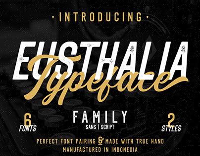 Eusthalia Typeface Family | Free Download