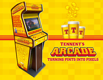 Retro Tennent's With Studio Something