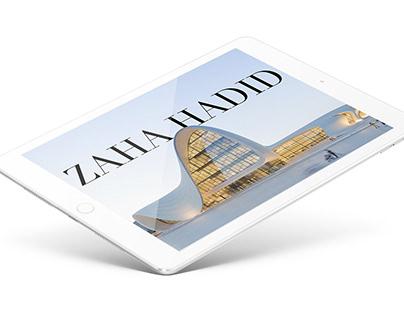 iPad Infinite Scroll