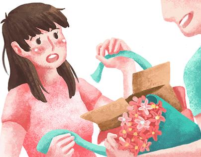 專案|薇姬娜品牌形象動畫