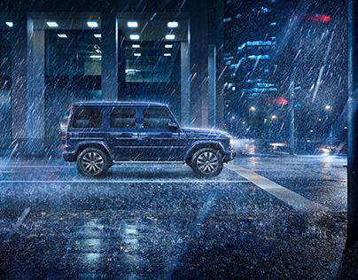 "Mercedes-Benz G-Class ""Blue Night"" Campaign & Brochure"