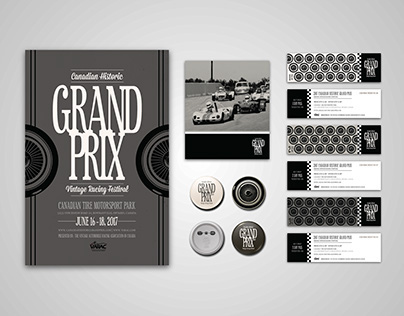 Canadian Historic Grand Prix Branding Concept