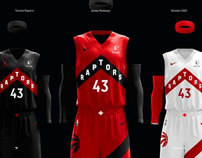 Toronto Raptors Jersey Redesign