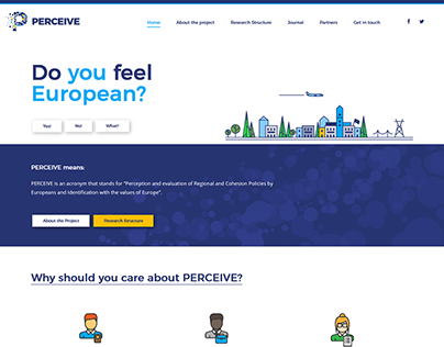 Perceive web graphic and development