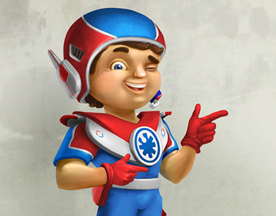 Супергерой компании Superhero company, character
