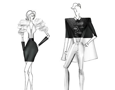 Ilustración de figurines - nueva imágen Miranda