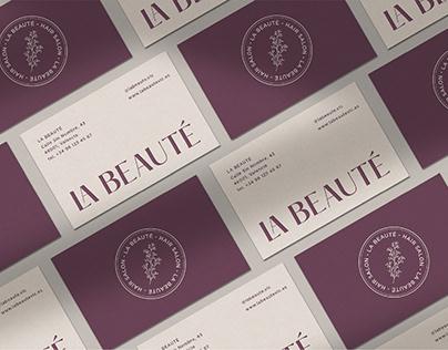 La Beauté Hair Salon | Branding Project