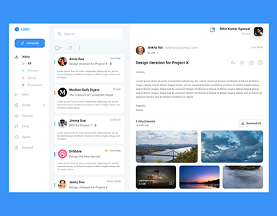 Email Redesign