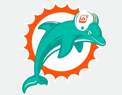 Miami Dolphins Logo & Uniform Rebrand Concept