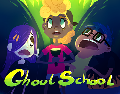 GHOUL SCHOOL : Character designs & concept