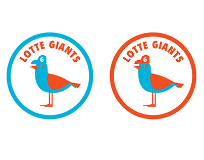 Sport team Graphic Identity / Lotte Giants