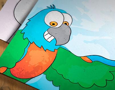 Cartoon Animal Portraits