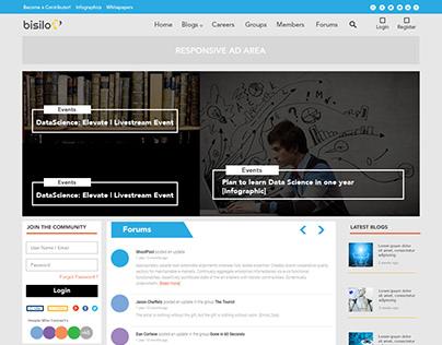 Blog Page design for Bisilo