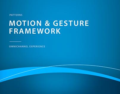ANZ — Motion & Gesture Framework