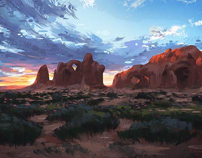 Utah Sunset +Subscriber Downloads