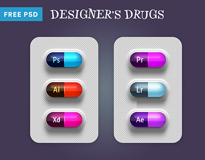 Designer's Drugs Free PSD